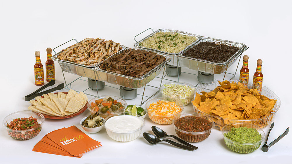 Zona Fresca Catering - Lunch or Dinner