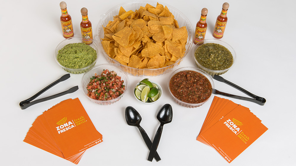Zona Fresca Catering - Chips and Salsa