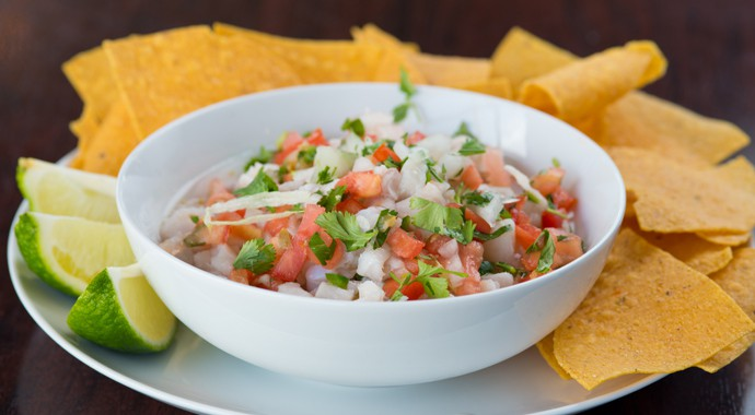 Fresh Mexican Food - Ceviche