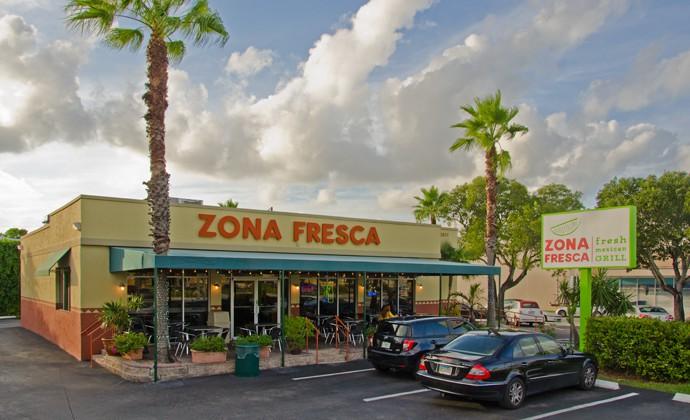Zona Fresca Fort Lauderdale Restaurant Exterior South
