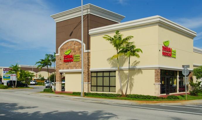Zona Fresca Pompano Beach Restaurant Exterior South