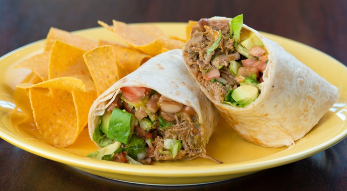 Fresh Mexican Food - Machaca Burrito