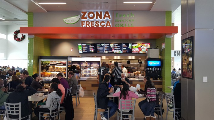 Zona Fresca Fort Lauderdale Airport Fll Airport Terminal