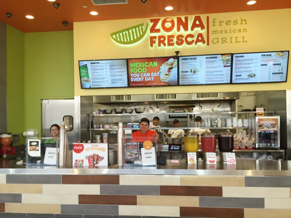Lawrenceville - Zona Fresca in Quaker Bridge Mall