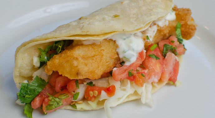 Fish Taco - Zona Fresca: South Florida's Fresh Mexican Grill
