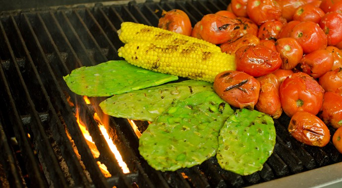 Fresh Mexican Food - Grilled Veggies