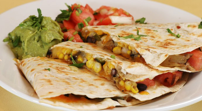 Fresh Mexican Food - Quesadillas