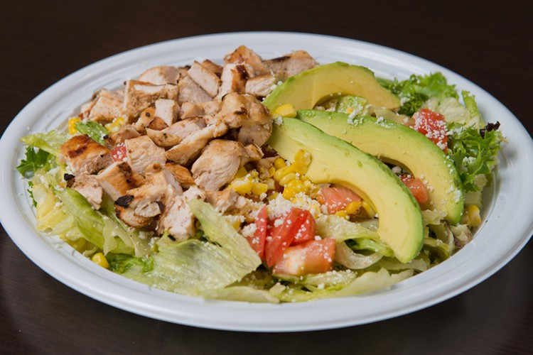 Fresh Mexican Food - Garden Chicken Salad