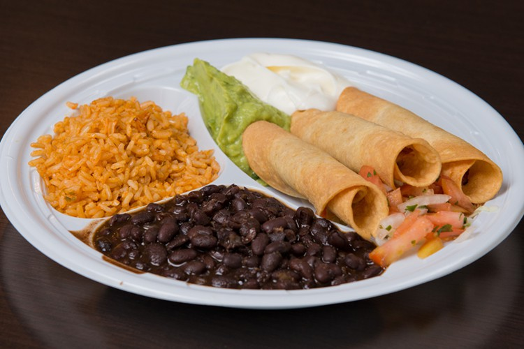 Fresh Mexican Food - Taquitos