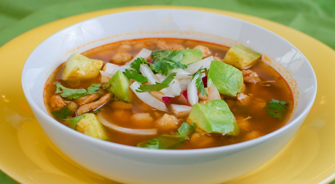 Fresh Mexican Food - Mexican Pozole Soup