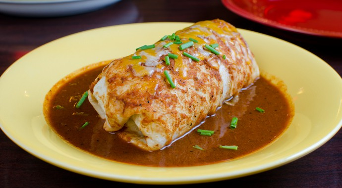 Fresh Mexican Food - Enchilada Style Burrito