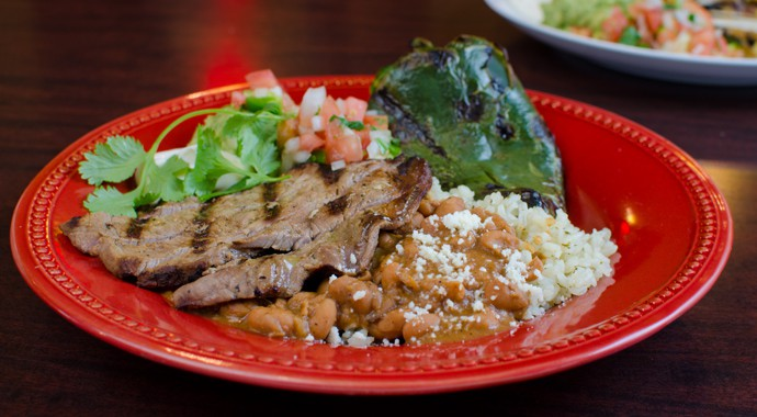 Fresh Mexican Food - Steak Baja Ranchero