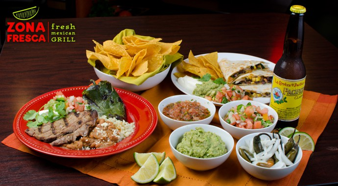 Fresh Mexican Food - Zona Assortment